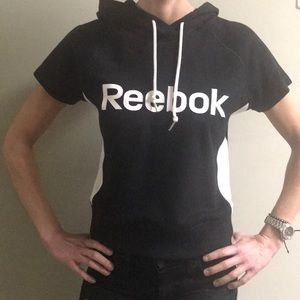 Reebok Short sleeve hooded sweatshirt